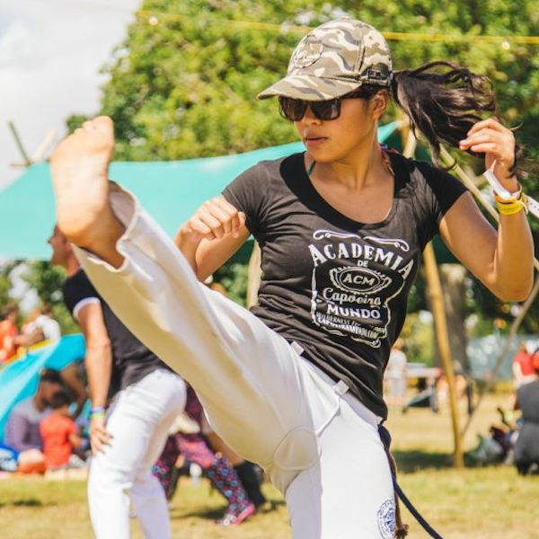 Pump Up The Volume with Academia De Capoeira
